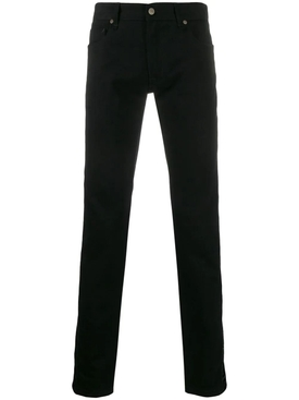 Black Slim Fit FF Jeans