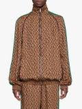 Gucci - Gg Print Bomber Jacket - Women