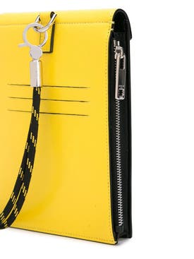 Givenchy - Black And Yellow Neck Pouch - Men