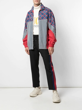 Graphic print sports jacket