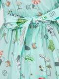 Olympia Le-tan - Mint Kawabata Dress Green - Women