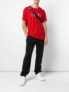 Gradient logo t-shirt RED