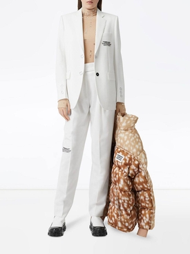 Optic white pants