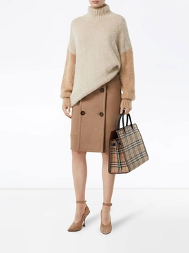 Mohair turtle neck sweater