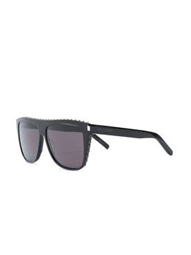 Black new wave sunglasses