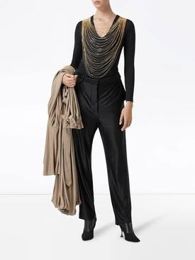 Chain detail bodysuit