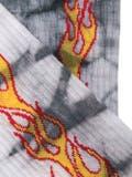 Palm Angels - Tie-dye Flame Print Socks - Men