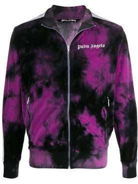 Palm Angels - Tie-dye Bomber Jacket Purple - Men