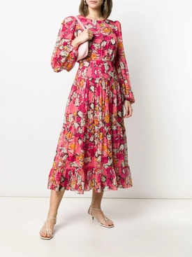 Multicolored floral Isabel dress