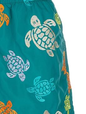 Turtle print swim shorts