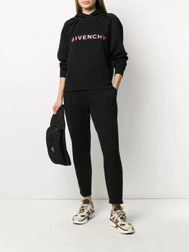Givenchy - Embroidered Logo Track Pants - Women