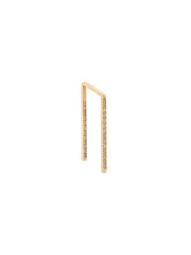 embellished bar earring