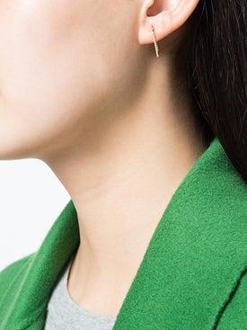 Shihara - Embellished Bar Earring - Women