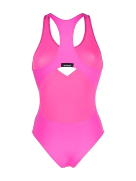 Heart cut-out swimsuit