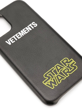 VETEMENTS X STAR WARS logo iPhone 11 case