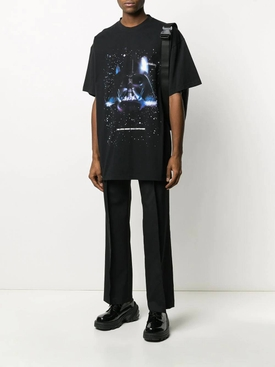 VETEMENTS X STAR WARS Darth Vader print t-shirt