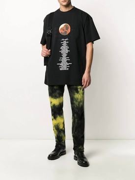 VETEMENTS X STAR WARS mustafar t-shirt
