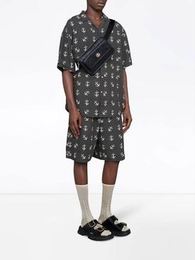 Anchor print shorts