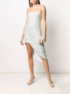Georgette sequin dress