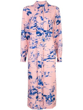 Sies Marjan - Floral Shirt Dress - Women