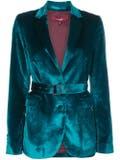Sies Marjan - Turquoise Velvet Blazer - Women