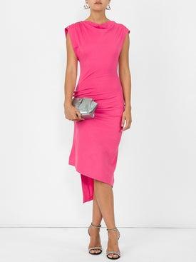 Paco Rabanne - Pink Long Jersey Dress - Women