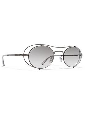 Maison Margiela x Mykita Silver oval sunglasses