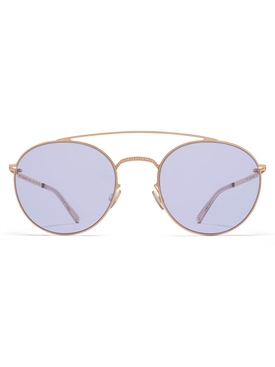 Maison Margiela x Mykita purple oval sunglasses