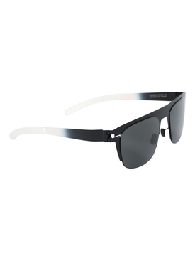 X Bernhard Willhelm Black and White Degrade Sunglasses