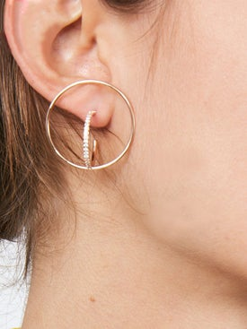 Charlotte Chesnais - Saturn Earrings - Women