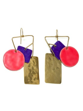 Lhd - Bird Garden Earrings X Aurelie Bidermann - Women