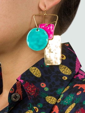 bird garden earrings x Aurelie bidermann