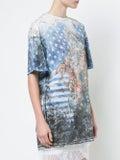 Balmain - U.s.a. Print T-shirt - Women