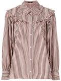 Alexachung - Striped Button Shirt Pink - Women