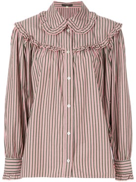 Alexachung - Striped Button Shirt Pink - Women