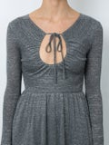 Alexachung - Key-hole Flared Dress Grey - Women