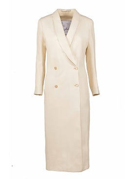 Giuliva Heritage Collection - Lightweight Ivory Coat - Women
