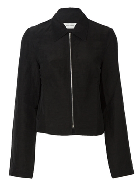 Wales Bonner - Black Zip Up Jacket - Women