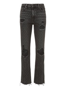 Alexanderwang - Grey Cult Net Jeans - Women