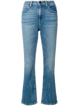classic cropped denim jeans