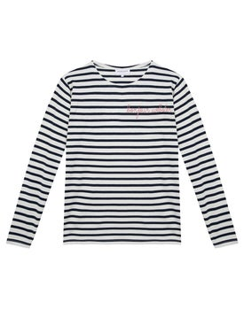 Maison Labiche - Bonjour Webster Stripped Long Sleeve Top - Women