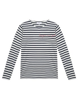 Maison Labiche - Bonjour New-york Stripped Long Sleeve Top - Women