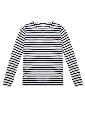 Maison Labiche - Bonjour Miami Stripped Long Sleeve Top - Women