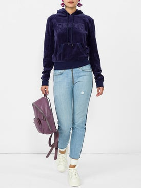 Re/done - High Rise Relaxed Crop Jeans - Women