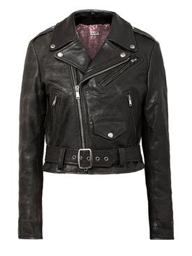 Re/done - The Webster X Re/done Moto Racer Leather Jacket - Women