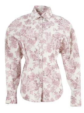 Lozanna Floral Pink Shirt
