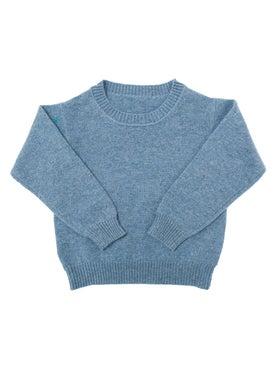 Alexandra Golovanoff - Kids Virgile Sweater Blue - Women
