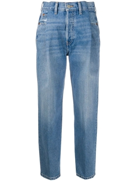 Zoot Cropped High-Waisted Jeans