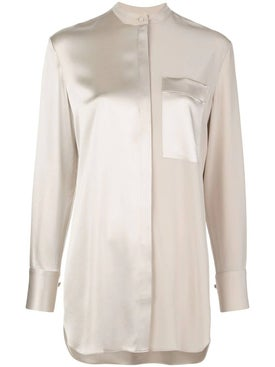Co - Champagne Satin Blouse - Women