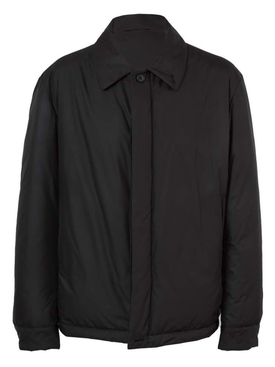Harvey Zipp Shirt Jacket BLACK